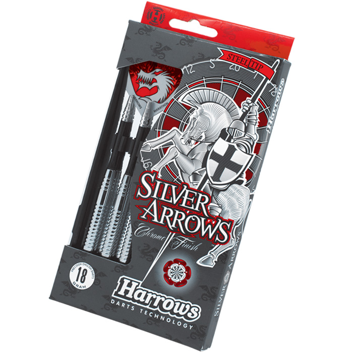 Šípky Harrows-STEELTIP SILVER ARROWS 20 gram